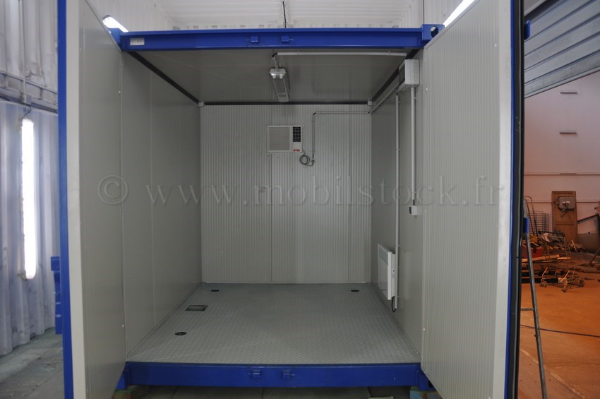 Conteneur 10 39 isol lectricit climatisation for Container isole