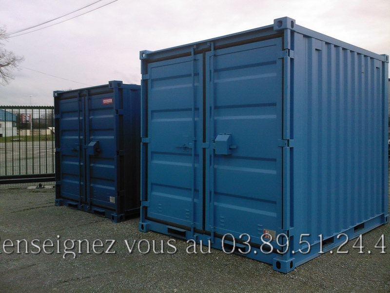 Photos de conteneurs de stockage de la soci t mobilstock for Container isole
